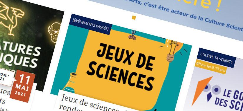 Exemple de réalisation : Carrefour des Sciences et des Arts